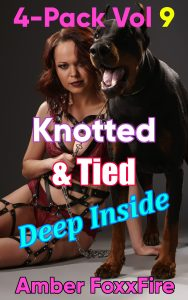 Book Cover: Knotted & Tied Deep Inside Vol 9