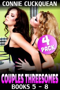 Book Cover: Couples Threesomes 4-Pack : Books 5 - 8